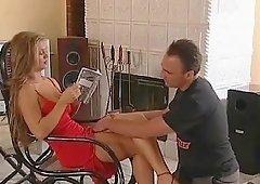 Rita Faltoyano enjoys videotaping her lovemaking