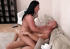 Cock riding mommy with amazing curves