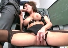 Hot mom sex video featuring Danny Mountain and Veronica Avluv