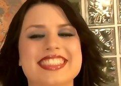 Busty Eva Angelina deepthroats like a star