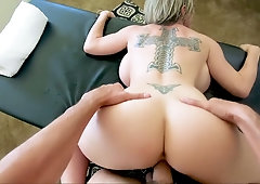 Marvelous giant breasted MILF Dee Williams is made to ride strong cock