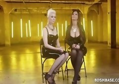 Syren De Mer and Lorelei Lee have a hardcore bdsm lesbian wet pussy licking session
