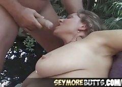 Threesome Action Elle Devyne Deepthroat