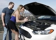 An Overheated Engine Leads To Hot Oral Sex