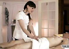 Massage Shemale Porn