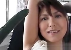 Teen asian nympho enjoys gets cunt nailed with a cucumber