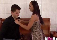 Anal sex with bi dude Judd and Tina
