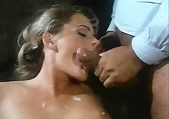 Thrilling Vintage Porn Ejaculation Scene From Classic XXX Movie