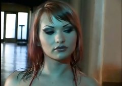 Perfect ginger-head slut Katja Kassin gets into really dirty scene