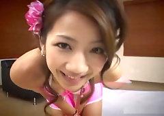 Rina Himekawa Dazzles With Sex Toy Self-Loving