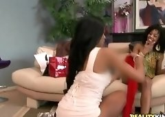 Stockings sex video featuring Misty Stone, Rihanna Rimes and Missy Stone
