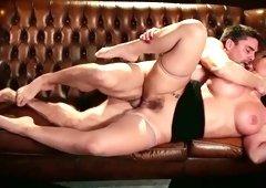 Stunning hoe Phoenix Marie is having crazy sex with her regular client