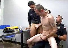gay Cops evil muscle