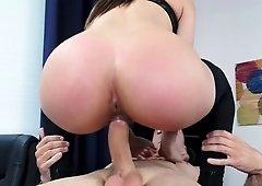 Boss demand her employee's huge dick