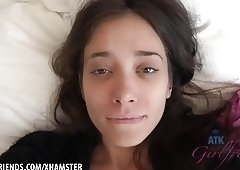 Creampie Gia Paige loves getting fucked in her young pussy