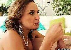 Rebecca Bardoux is a horny mom in need a young piece of meat for satisfaction