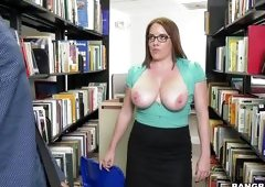 Busty Librarian