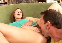 Amazing pornstar Sylvia Laurent in fabulous mature, creampie porn clip