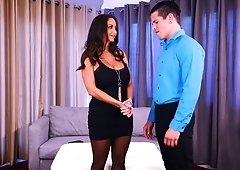 Ava Addams lets stranger fuck her hard at dirty wives club