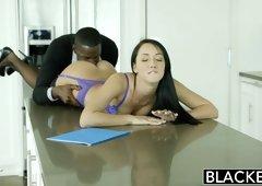BLACKED Wife Sabrina Banks Loves BBC