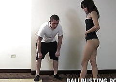 I will bust your balls harder if you scream