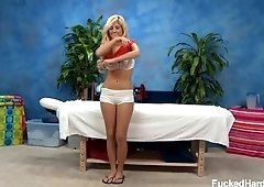Tasha Reign oiled up naked