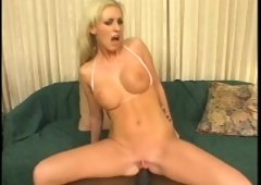 Cailey Taylor goes interracial and plugs her ass before he does it