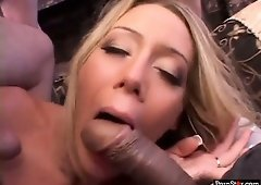 Leah Moore can't get enough of her lovers and their big cocks