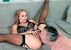 Fantasy hard sex with a woman like a goddess