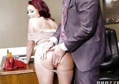 Perfect Tits Bouncing In His Office