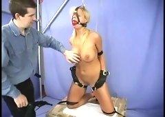 Fetching Shauna Ryan acting in BDSM video