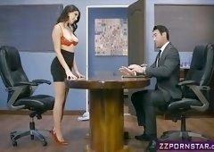 Sexy inventor Valentina Nappi fucks in the patent office