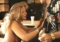 Best pornstar Angela Summers in crazy blonde, blowjob adult clip