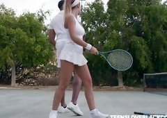 Tennis Training Session Turns Into Raunchy Encounter