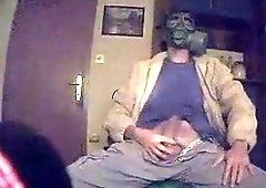 Paintball mask fetish
