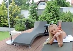 Ivana sugar gets oiled up and fucked in her asshole