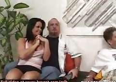 Priscilla Sin gets pounded by her husbands coworker hard dick