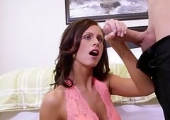 Skinny Whitney Westgate receives big cock in hardcore