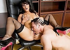 Saturday Office Seduction With Charley Chase