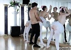 College start orgy Ballerinas
