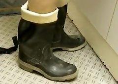 Nlboots rubber boots outside