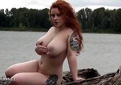 Kaycee Barnes - Kaycees Blue Bikini