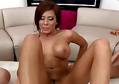 Incredibly hot and busty chicks are enjoying oiled sex games