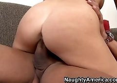 Ambrosial breasty Chanel Preston pleased to have some facial sperm shot
