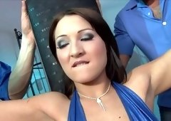 Hottest pornstar Chantal Ferrera in best anal, facial sex scene