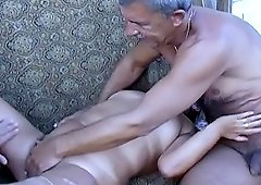 Amateur compilation footage of granny enjoying hard sexual life