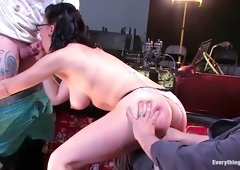 Hottest fetish adult scene with incredible pornstar Maggie Mayhem from Everythingbutt