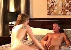 Awesome romantic babe Ela Darling wanna nothing but steamy long lasting fuck