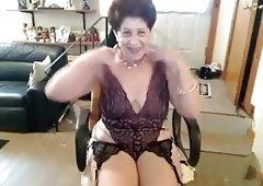 Old Masturbating Granny