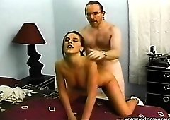 Beauty on her hands and knees for doggystyle fucking